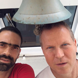 Paulo and Grant Horak
